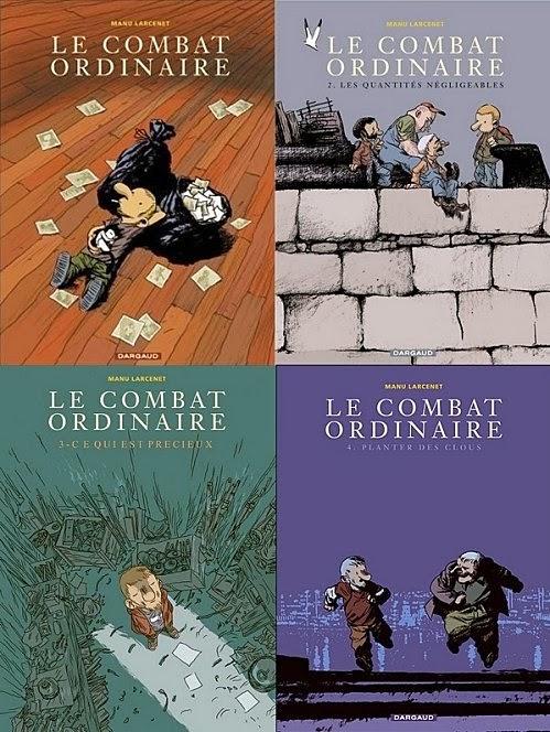 Le combat ordinaire, Manu Larcenet
