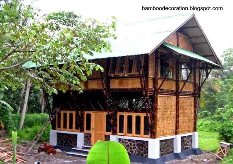 Construcción residencial con bambú