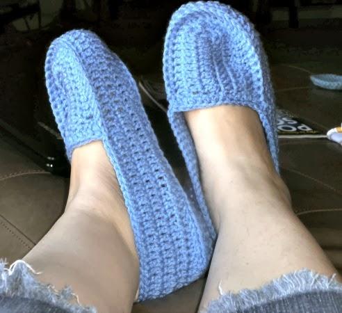 Tracys Crochet Bliss: Crochet Slippers (Babbucce) FREE ...