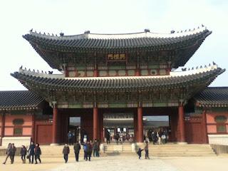 Gyeonbukgang palace in Seoul