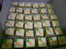 Kek Slices Carrot Walnut Cream Cheese(RM 60)