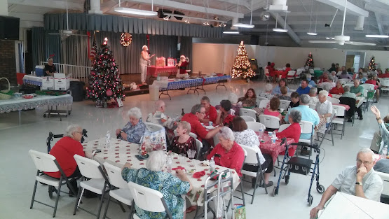 Christmas Dinner at the Ridge 2016