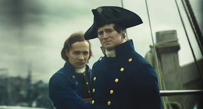Frank Dillane and Benjamin Walker in In The Heart of the Sea