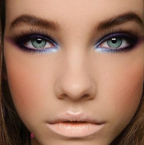 maquillaje ojos metalico