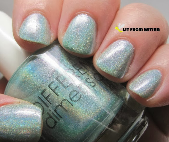 Different Dimension Ocean's Daughter is such a gorgeous holo - light blue with green - very watery.