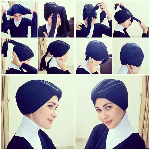 Cara Memakai Jilbab Tren | Black Hairstyle and Haircuts