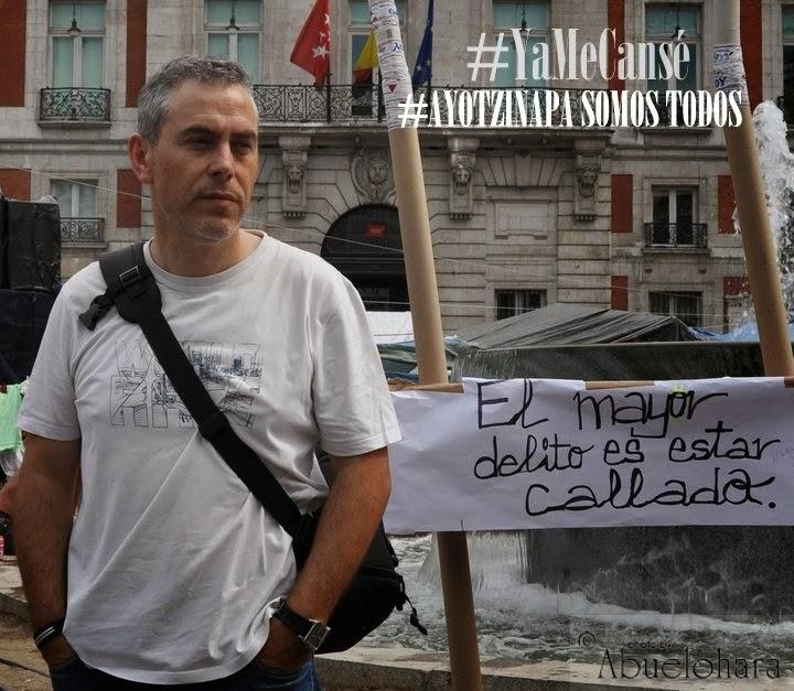 #YaMeCansé #AyotzinapaSomosTodos