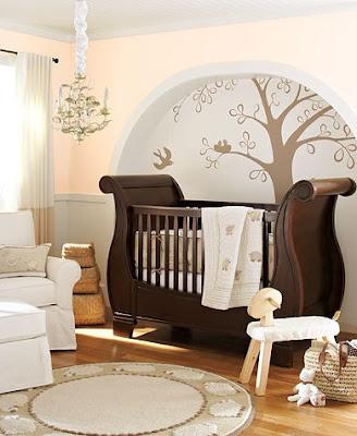DECORA%C3%87%C3%83O DE QUARTO DE BEB%C3%8A SIMPLES BER%C3%87O SEM QUINAS Como decorar o quarto do bebê