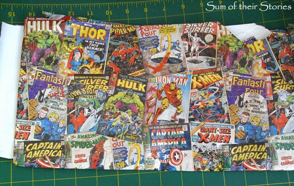Comic Book Glasses Case