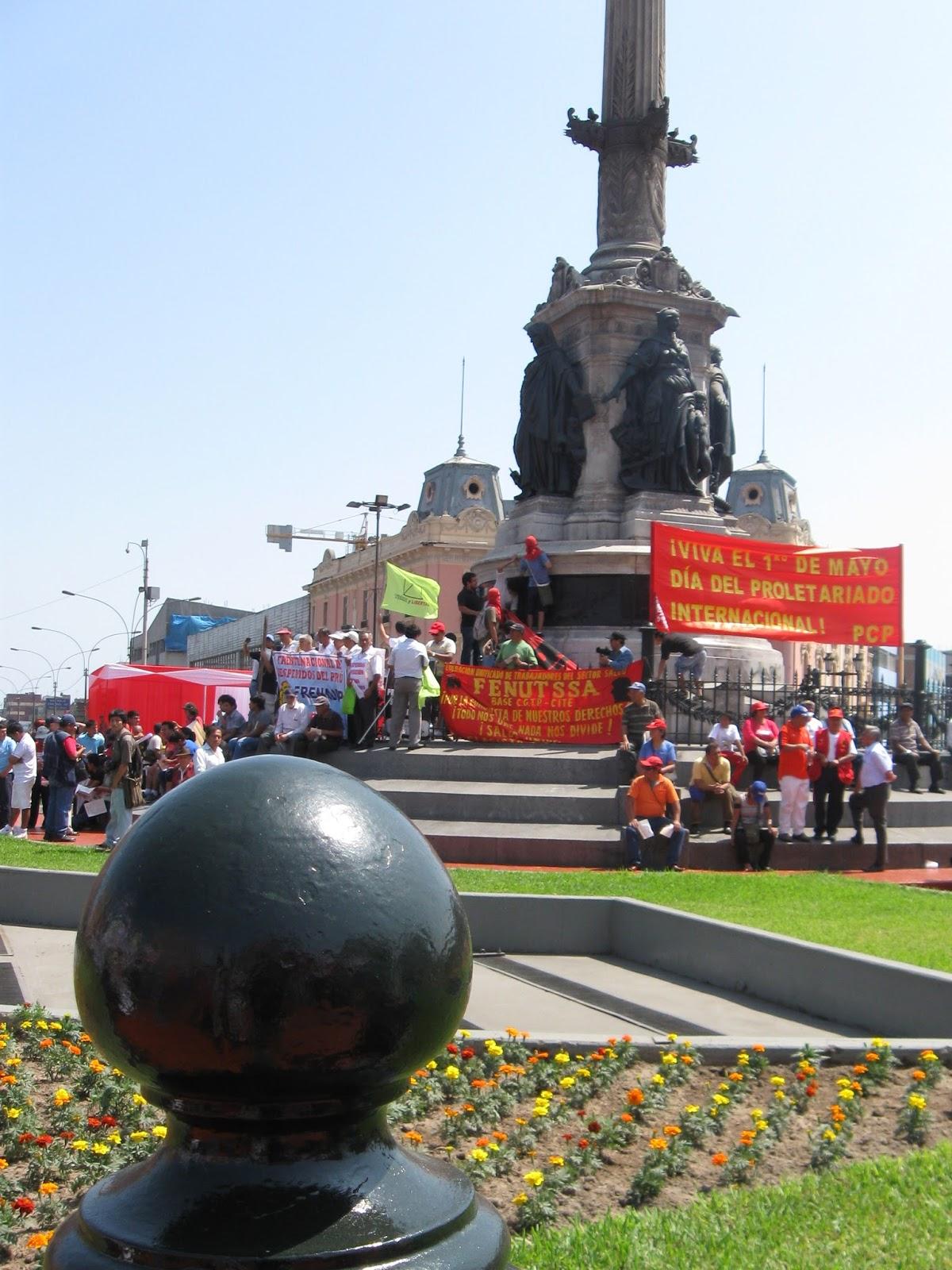 Partido Comunista del Perú - 1º. de Mayo 2015 9