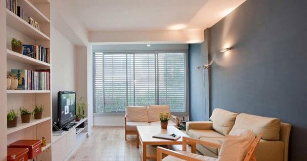 desain ruang tamu minimalis modern ruangan kecil