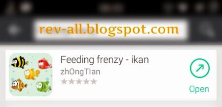 Ikon dan nama permainan Feeding Frenzy android berukuran kecil (rev-all.blogspot.com)