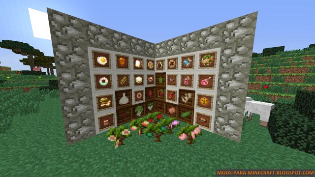 HarvestCraft Mod para Minecraft 1.7.2/1.7.10 (Actualizaci�n)