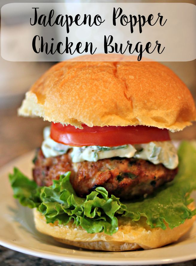 Jalapeno Popper Chicken Burgers Jalapeno Popper Chicken Burgers. Bacon ...