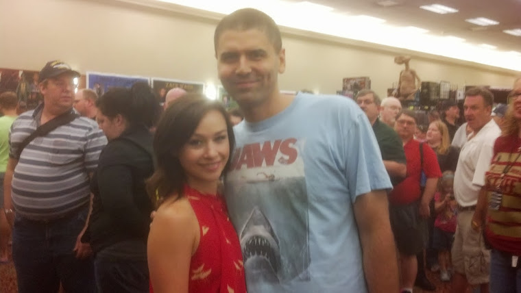 Me with Danielle Harris (in 2013)