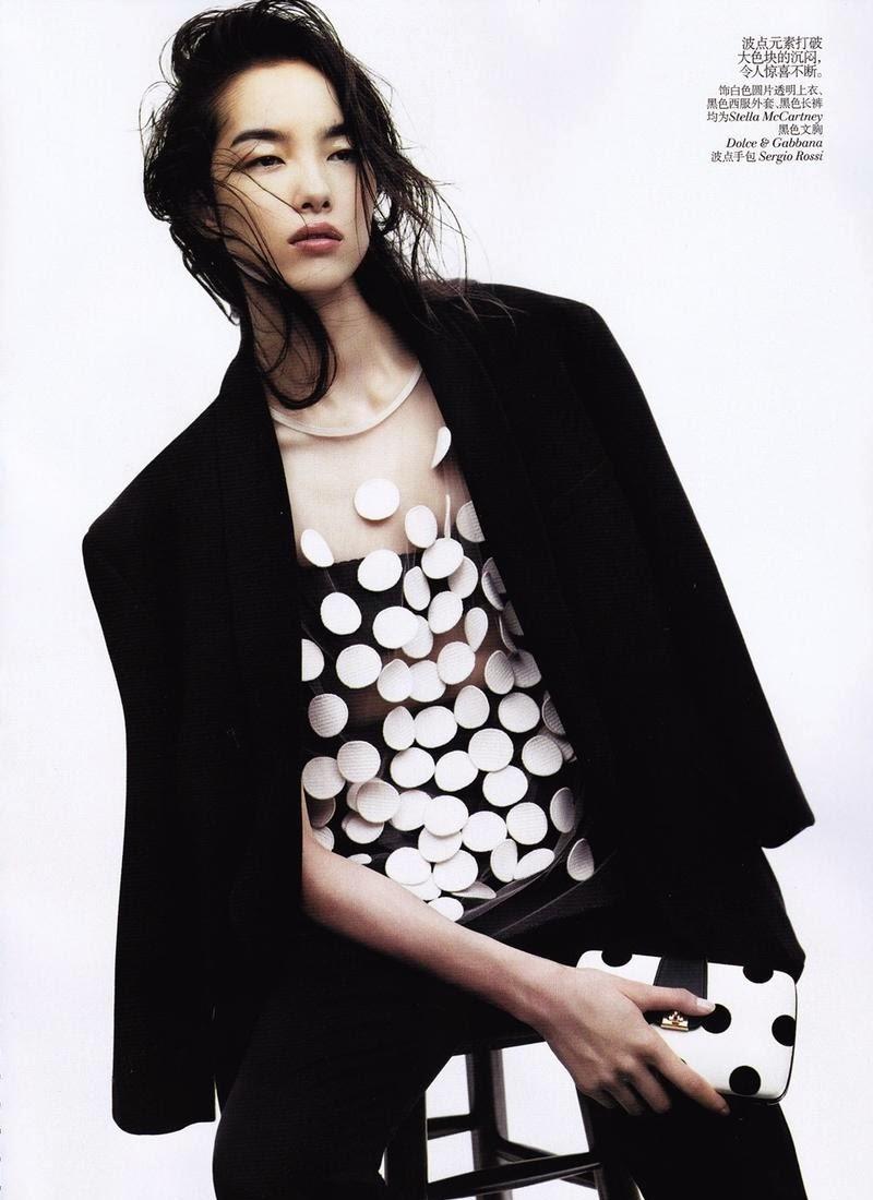"Cosmopolite Beauté: Ma ""Cosmopolite Beauté n°1"": Le Top Model Chinois, Fei Fei Sun"