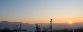 Beautiful sunrise again this morning