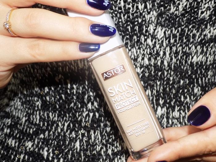 Astor  Skin Match Protect Foundation- Recenzja