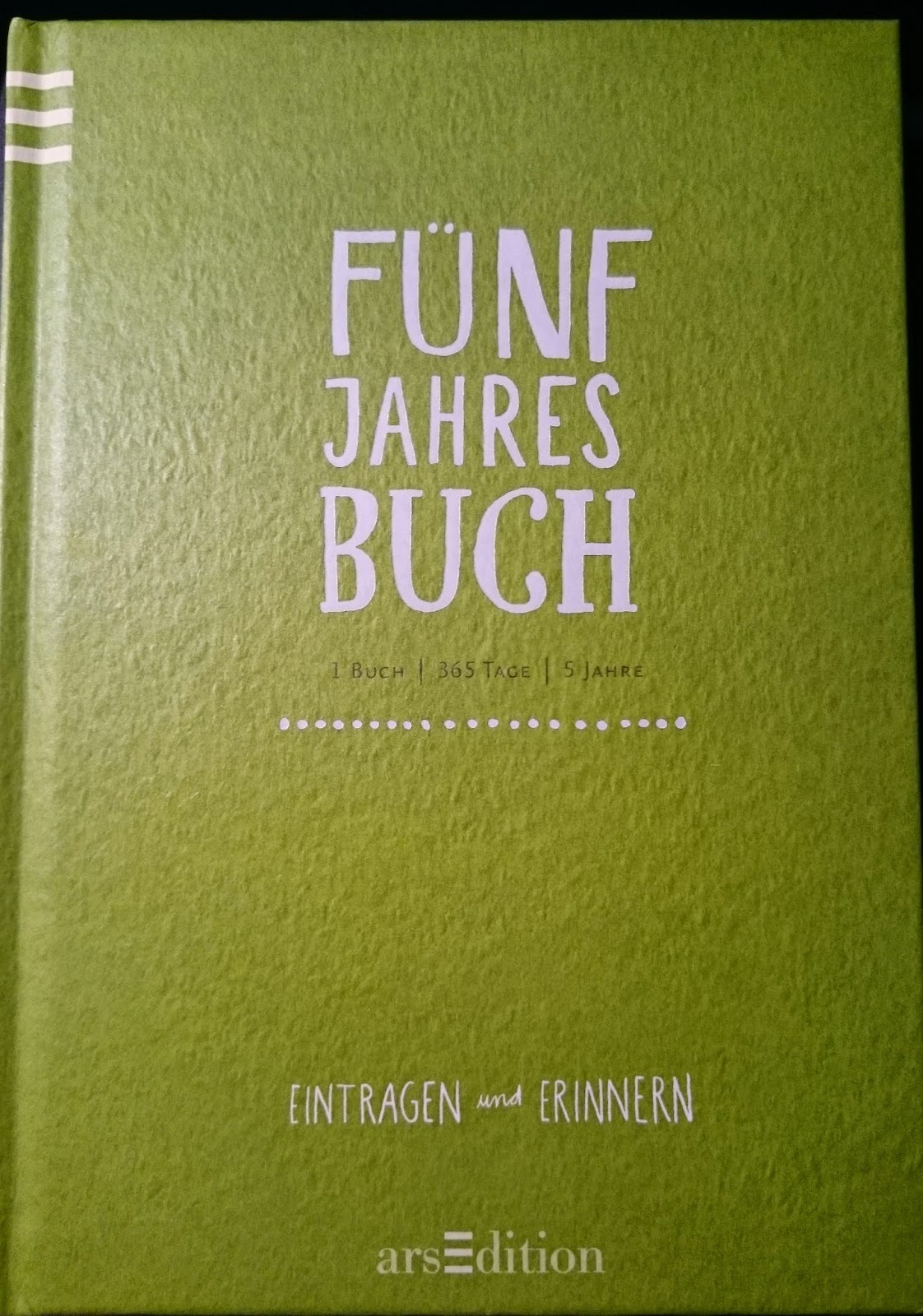 Mein fuenf Jahres Buch