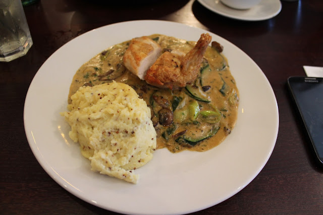 Essex, Loughton, Cafe Rouge, Menu, Review, bloggers, fdbloggers, Poulet Breton, chicken,