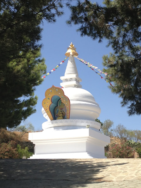 Finding Buddha in Spain