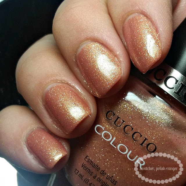 swatcher, polish-ranger | Cuccio Colour Sun Kissed swatch