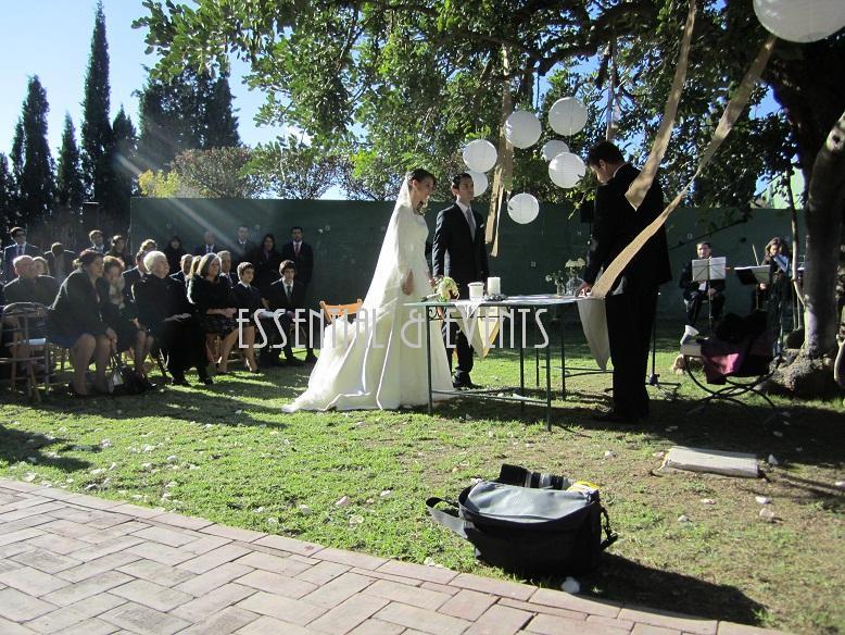 Bodas a medida tendencias en bodas 2012 la decoraci n for Arreglo de boda en jardin