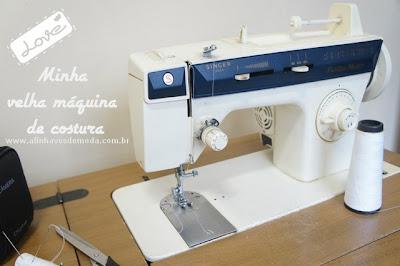 """""""A-minha-velha-máquina-de-costura"""" www.alinhavosdemoda.com.br"""