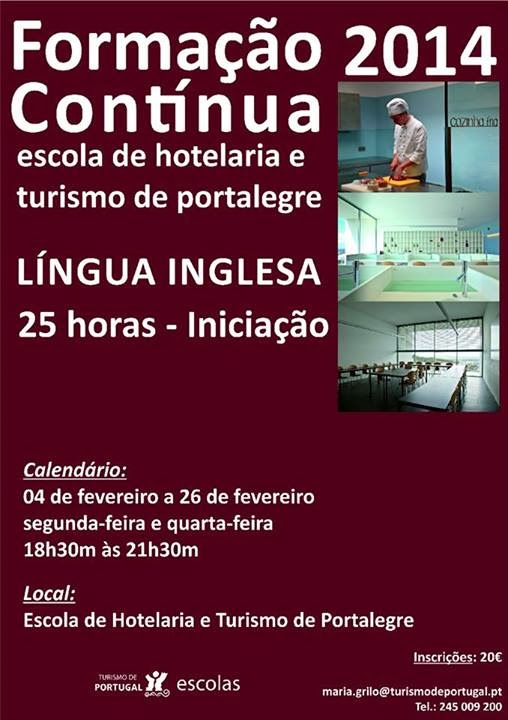 curso de Inglês em Portalegre