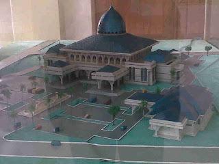Gambar-miniatur-masjid-agung-banjarbaru