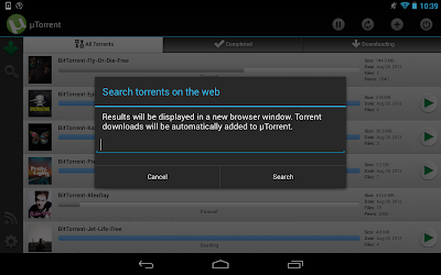 Download uTorrent Android App Free.
