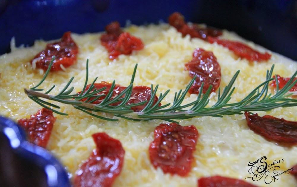 saveurs et exp riences gratin de semoule de bl extra fine aux tomates confites et lard grill. Black Bedroom Furniture Sets. Home Design Ideas
