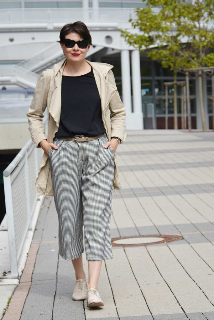 Culottes, trend in fashion, burberry sunglasses, Stefanel