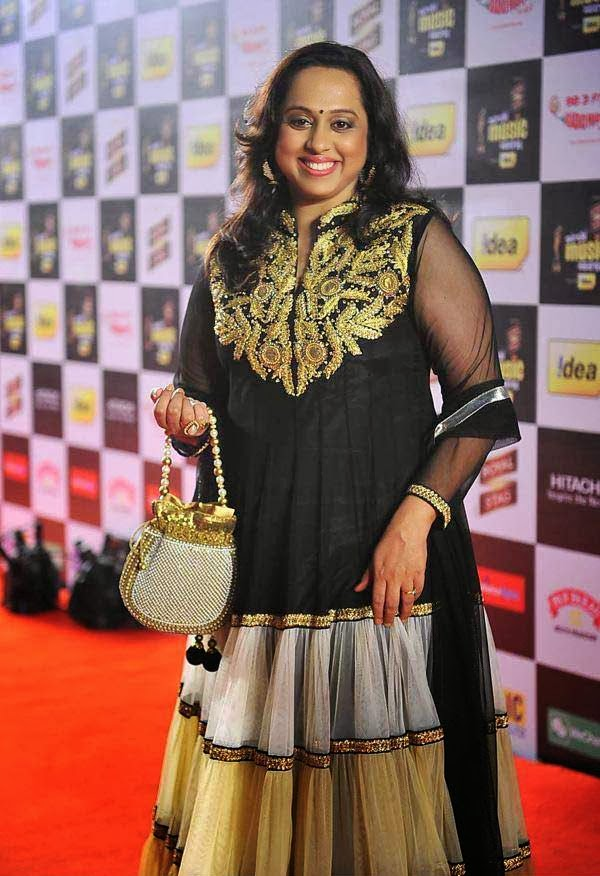 Vaishali Samant at Mirchi Music Awards 2014