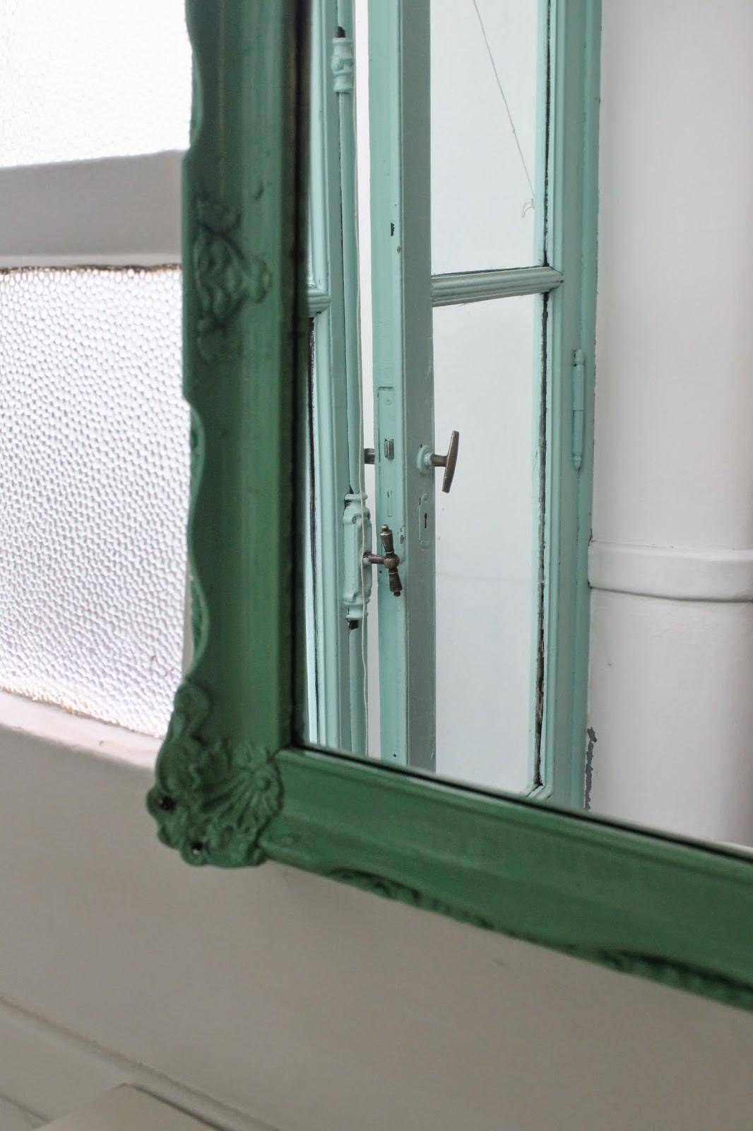 Marco verde con espejo: Deco Marce Tienda