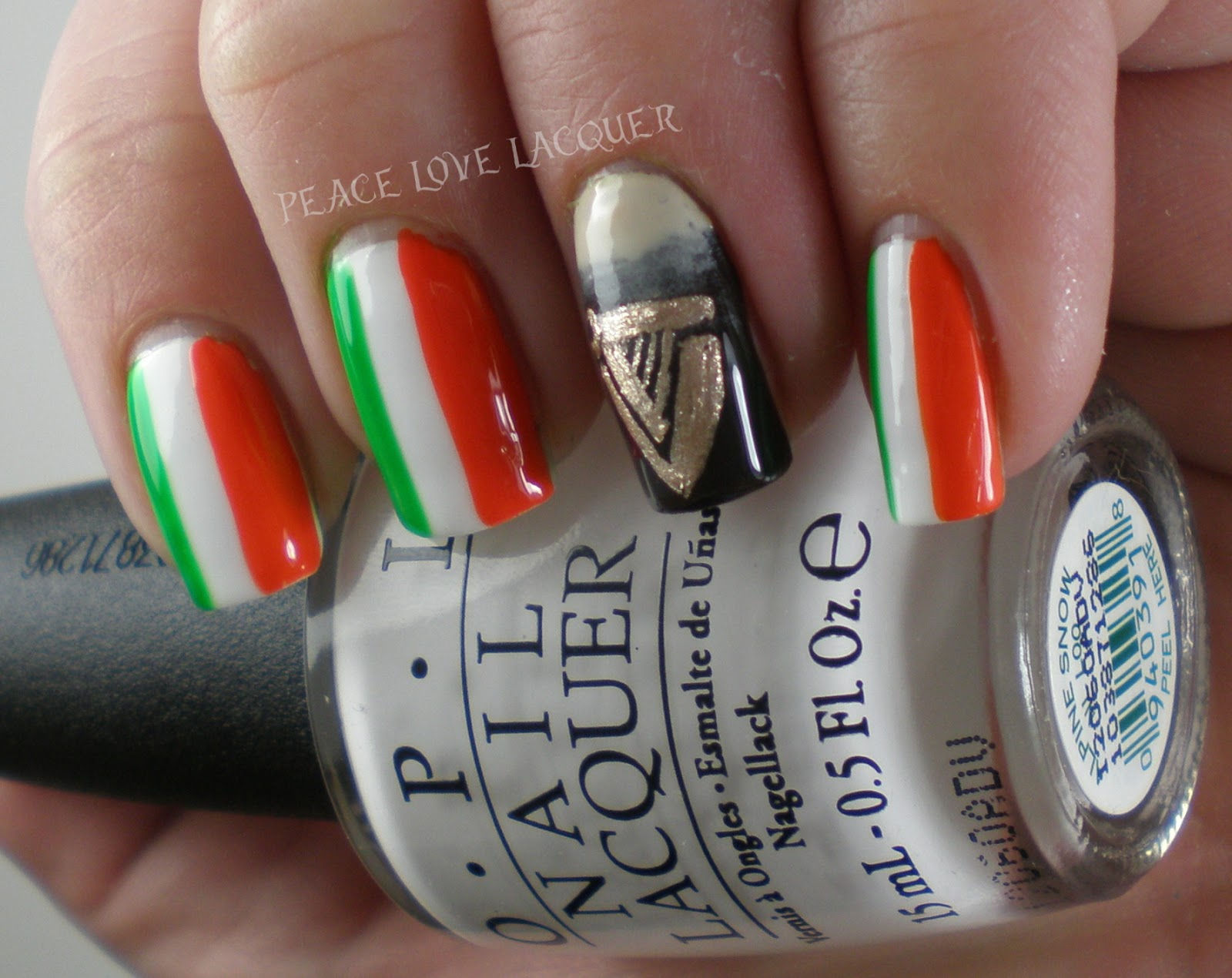 Peace Love Lacquer: Luck of the Irish Nail Art Challenge Day 5 ...