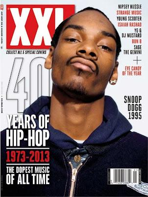 snoop dogg portada de la revista xxl edicion especial 40 años de hip hop