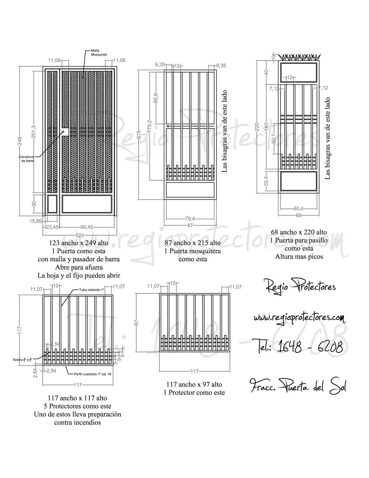 Disenos De Puertas Y Ventanas
