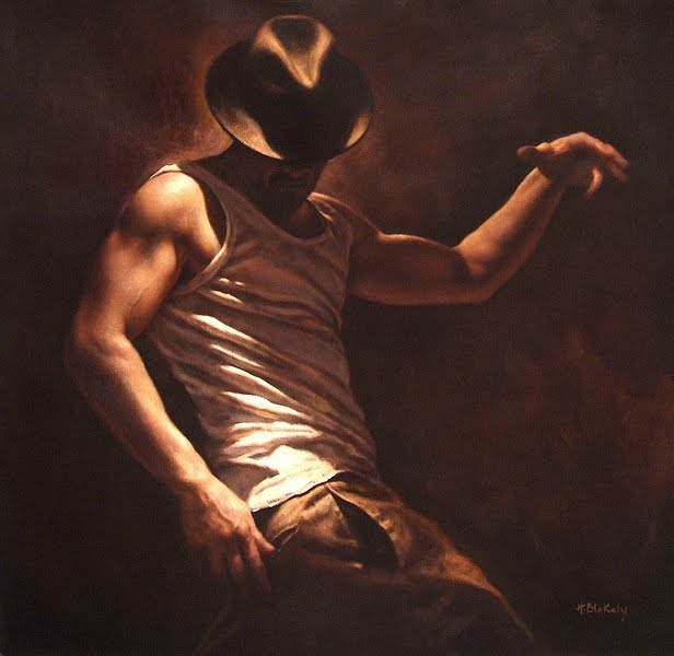 Flamenco Dancer | Hamish Blakely - British Figurative painter