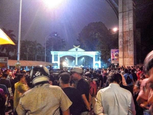 Gambar Ceramah Anwar Ibrahim Di UM 27 Okt 2014