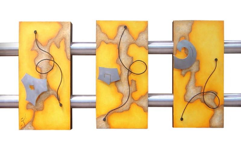 Cuadros abstractos modernos cuadros tripticos car for Comprar cuadros bonitos