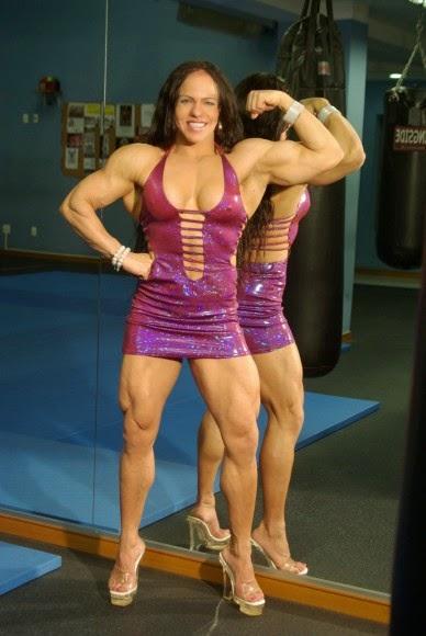 Ana Claudia Pires Is A Brazilian Female Bodybuilder - The ...