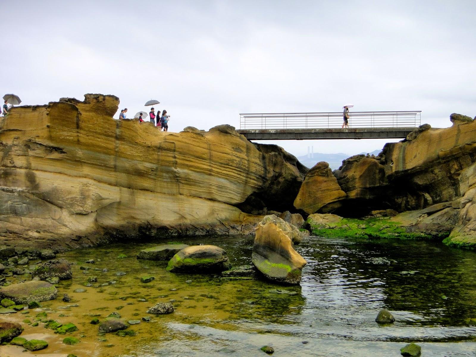 Yehliu Geopark Bridge Taiwan