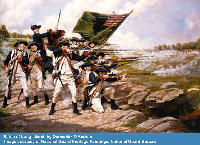 Delaware Regiment at NY