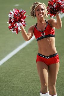 Atlanta Falcons Cheerleaders Alumni: August 2008