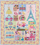 Mon Ami Applique Pattern - Back In Stock