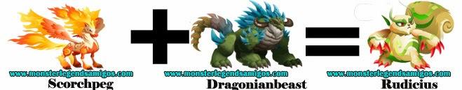 como obtener el monster rudicius en monster legends formula 1