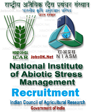 Jobs in NIASM Recruitment National Institute of Abiotic Stress Management