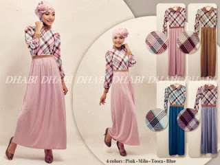 Anita Burberry Maxi Dress