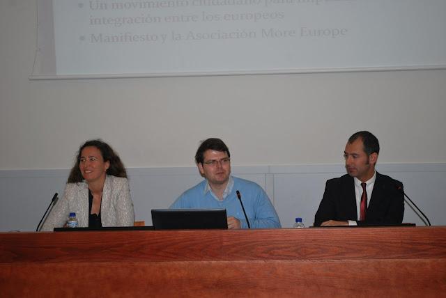 Susana del Río, el Ciudadano Morante y Lorenzo Juillet © EUCA
